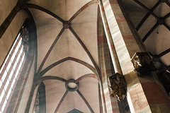 Let some Light in (Thomas Listl) Tags: thomaslistl color church architecture light lightray sunlight window mood atmosphere marienkapelle würzburg mary arches lines curves geometry interior building chapel 50mm vsco space