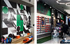 Football Pro — Retail store graphic identity system (George Strouzas) Tags: tbd the birthdays design wwwthebirthdaysdesigncom markos zouridakis konstantina yiannakopoulou george strouzas athens retail store greece ermou street center graphic typography collage system art vintage football pro soccer nike adidas footwear sports active green grass