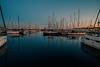 Goodnight Barcelona.... (Dafydd Penguin) Tags: porto olympico marina harbour harbor port dock quay moorings pontoon yacht yachting boat ship vessel sailboat barcelona spain water sea sunset light evening leica m10 elmaritm 21mm f28