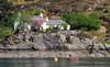 Ferry House, Glenelg (M McBey) Tags: glenelg ferryhouse scotland blossom shore boat trees house cottage