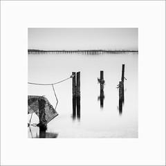 Bouzigues #39 (Guillaume et Anne) Tags: bouzigues sète montpellier étang thau sud canon 6d 24105f4lis 24105 24105f4 noiretblanc bw filtre filters leefilters lee gnd09 poselongue longexposure