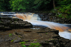 Stainforth force, on the river Ribble (The Frustrated Photog (Anthony) ADPphotography) Tags: category england northyorkshire places stainforthforce travel waterfall yorkshire water river forest woodland rocks moss creek trees tree force falls silkywater motionblur longexposure landscapephotography travelphotography canon canon70d canon1585mm outdoor scenery scenic countryside rural uk unitedkingdom greatbritain greenery