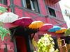 Επτά!!  P1030354 (amalia_mar) Tags: επτά νούμερα weeklythemes numbers seven umbrellas colors decoration athens cafeteria coffeehouse αθήνα καφετέρια διακόσμηση smile