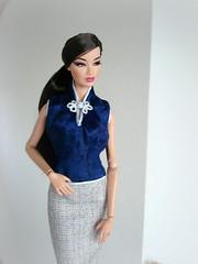 Faded Desert Kyori (Deejay Bafaroy) Tags: fashion royalty fr fr2 integrity toys doll puppe barbie faded desert kyori sato blue blau portrait porträt