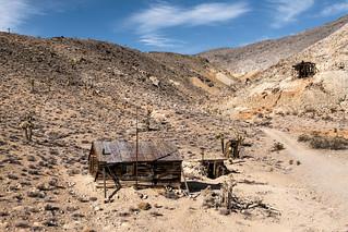 Lost Burro MIne Camp
