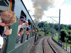 B3/4 1367 CFF Historic 3 (jean-daniel david) Tags: train vapeur suisse suisseromande vaud rails chemindefer locomotive fumée transport arbre forêt ciel