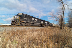 Sweet Sixty (Wheeling West End) Tags: ns norfolk southern emd sd60 6707 chicago line conrail cr brookpark oh ohio 309