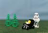 Babysitting (Lutska) Tags: lego minifigure minifigures toys stormtrooper storm trooper stormtroopers star wars starwars babysitter push chair baby