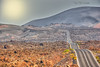 (086/18) ¿Te gusta conducir? (Pablo Arias) Tags: pabloarias photoshop photomatix capturenxd españa cielo nubes carretera montaña parquenacional timanfaya lanzarote coche vehículo