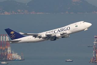 TC-MCT 747-400F Saudia Cargo