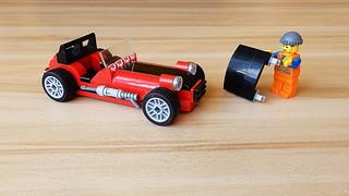How to Build Lego Caterham Super Seven (MOC - 4K)