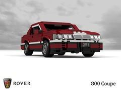 Rover 800 Coupe (lego911) Tags: rover 800 coupe 1992 1990s uk british v6 turbo auto car moc model miniland lego lego911 ldd render cad povray honda