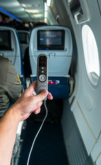Best Coach Seat Ever! (Clay's HD Images) Tags: sonya7r2 delta airline flying coach seat remote florida passenger leg room