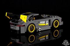 75877 LEGO Speed Champions Mercedes-AMG GT3 (rear) (bricks360) Tags: lego лего 레고 75877 speed champions mercedes benz mercedesamg gt3 amg legoland bricks360 brick 360 toyphotography legophotography legography toy
