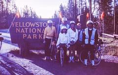 America Coast to Coast Bicycle Trip, First Photos with an SLR, 1983 (Thomas Hawk) Tags: 1983 america america1983 coasttocoast coasttocoast1983 thomashawk usa unitedstates unitedstatesofamerica wanderingwheels wanderingwheels1983 yellowstone yellowstonenationalpark bicycle bike