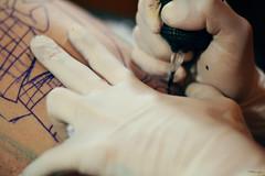 (Paranoico (MDMAfia)) Tags: tinta oscarcolores tatuaje tattoo aguja