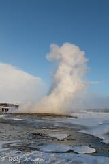 Geysir (rjonsen) Tags: water vapour nature hot could iceland europe spring roadtrip amazing wonder