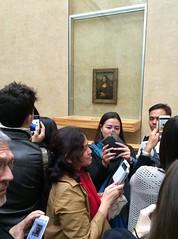 Mona Lisa who? (Douglas Alvarez Photography & Paintings) Tags: vacation people douglasalvarezphotography canonphotography fineart art museums louvre france paris canon selfie photography monalisa