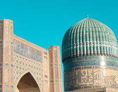 Visite émouvante de Samarcande (Histoires de tongs) Tags: uzbekistan ouzbékistan tourdumonde travel trip roundtheworld adventure aventure voyage architecture découverte discover visite visit