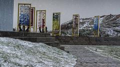 Nevada Museo Anclas (@pabloralonso) Tags: nieve snow castrillon winter invierno asturias