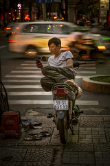 Ho Chi Minh City Vietnam (Ed Kruger) Tags: 2017 allrightsreserved asia asiancities asiancountries cultureofasia edkruger millakruger octover peopleofasia photosofasia southeastasia abaconda asian asians bike blue city cityscene cityscape copyrights hochiminh kirillkruger light qfse rodkruger saigon scooter street travel travelphotography vietnam