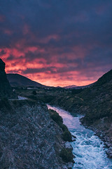 Queenstown (bruit_silencieux) Tags: newzealand travel nature landscape sigma35mm14art sonya7 mountains sunset river sky queenstown