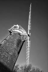 Sail away. (thebillster) Tags: winter sunset dusk shadow sails norfolk dereham windmill