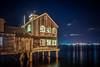 Pier Cafe (Manuela Durson) Tags: sandiego piercafe coronadobridge marina harbor ocean night nightphotography reflections restaurant