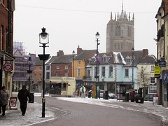 Market Place Winter Melton Mowbray Leicestershire 1st March 2018 (@oakhamuk) Tags: meltonmowbray leicestershire 1stmarch2018 snow winter