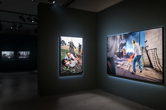James Nachtwey 'Memoria' exhibition at Palazzo Reale in Milan.
