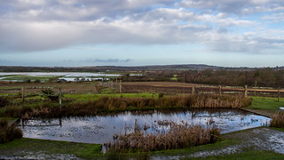 Views out towards the River Arun