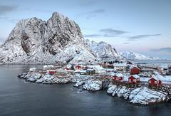 Hamnøy - old fishing village (___pete___) Tags: norway lofoten polar night winter road trip islands hamnøy