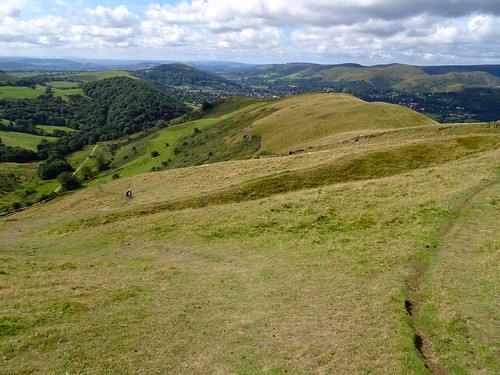 View southwest from Caer Caradoc