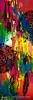 Abstract Boho Design Diptych - Left Image - By Nikki And Kaye Menner (Kaye Menner) Tags: abstractbohodesign diptych abstract boho leftimage colorful bright vibrant vivid painting mixedmedia kayemennerphotography kayemenner mandala mandalastencils stencils feathers featherstencils lotsofcolors bohemian bohemianstyle brushstrokes texture bohemianwallart 2paintings vividart vibrantart twopanelart abstractpainting multicolored kayemennerabstract red green blue yellow redgreenblueyellow