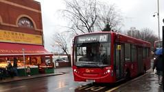 Go-Ahead London Central SEN29 YX61FZZ | P12 to Brockley Rise (Unorm001) Tags: red london single deck decks decker deckers buses bus routes route diesel sen29 sen 29 yx61fzz yx61 fzz p12 goahead central go ahead