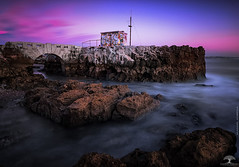 A Fairy Tale II (Adrega) Tags: ifttt 500px sky landscape sunset ocean twilight bridge rocks horizon castle landscapes skyline dawn lisbon portugal bay dusk dramatic tagus townscape view land