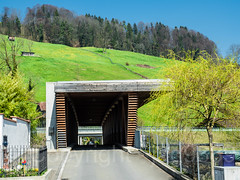 KLE790 Enniger Covered Bridge over the Kleine Emme River, Malters, Canton of Lucerne, Switzerland (jag9889) Tags: 2017 20170327 bach bridge bridges bruecke brücke ch cantonlucerne cantonoflucerne centralswitzerland coveredbridge crossing europe fluss gkz707 helvetia holzbrücke infrastructure innerschweiz kantonluzern kleineemme lu lucerne lumber luzern malters outdoor pont ponte puente punt reusstributary river road roadbridge schweiz span strassenbrücke stream structure suisse suiza suizra svizzera swiss switzerland timber waterway wood woodenbridge zentralschweiz jag9889