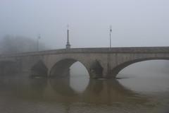 Suspended time (fredericdestor) Tags: canon bridge mist
