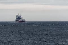 Le cargo (sabathius80) Tags: canada québec nature photo picture canon eos 7d mark ii automne autumn eau mer fleuve boat bateau cargo landscape paysage