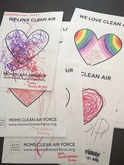Delivering clean air valentine's to Congressman Mast's office