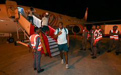 Desembarque em Barranquilla (28/02/2018) (sepalmeiras) Tags: jailson aeroportointernacionalernestocortissoz palmeiras sep desembarque