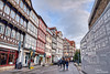 Half-timbered houses in Burgstrasse. Hanover (Abariltur) Tags: abariltur castellón spain nikond90 afsdxnikkor1024mmf3545ged hannover halftimberedhousesinburgstrasse thestreetsofhanover burgstrasse halftimberedbuildings stadtteilmitte districtmitte hanover lowersaxony germany europe