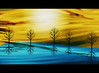 """Silence is golden"" (Marcia Portess-Thanks for a million+ views.) Tags: silenceisgolden map marciaportess originalart elarte art digitalart elartedigital naiveart illustration contemporaryart trees arboles sky landscape"