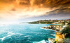In between the sky and sea (Arun Haridharshan) Tags: austraila beach sydney sea
