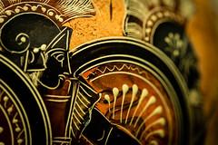 MacroMondays: The Iliad. (icarium.imagery) Tags: macro macromondays canoneos5dmarkiv myfavouritenovelfiction vase hoplite greek homer iliad grecoroman sundaylights canonef100mmf28lmacroisusm