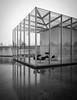 Foundation Langen (schromann) Tags: reflecting pool tadao ando glass glas concrete beton brut box kiste