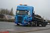 Scania R440 'Pullan Transport' reg P111 LAN (erfmike51) Tags: scaniar440 truck artic flatbedtrailer lorry pullantransport