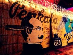 Penkala - a Croatian inventor - EXPLORED (Bambola 2012) Tags: zagreb zagabria graffiti penkala inventor izumitelj pen kemijska olovka lights luci lampice tuš ink