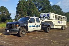 Lafayette PD_21203 (pluto665) Tags: horse equine pickup truck dually lpd