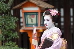 Setsubun Event (walkkyoto) Tags: 奉納舞 honomai 節分 setsubun event 八坂神社 yasaka 神社 shrine 舞妓 maiko 芸妓 geiko 京都 kyoto 日本 japan ef200mmf28lusm